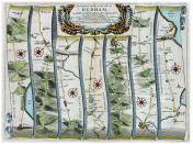 co Durham line map
