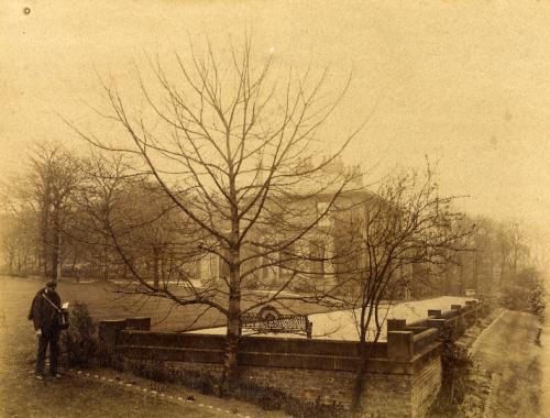 Hendon Hill with John Wilfred Mounsey, April 1890