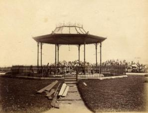 Bandstand in Mowbray Park, 1890