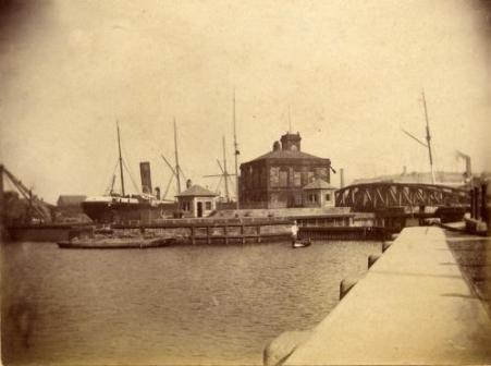 South Dock in 1890